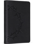 ESV Compact Bible, Trutone, Charcoal, Crown Design: 9781433503825